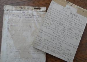 Ses 2 carnets 29/07/1914