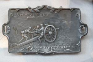 objet fabriqué par un poilu durant la guerre