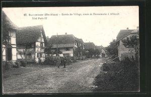 Ballersdorf (route de Dannemarie à Altkirch)