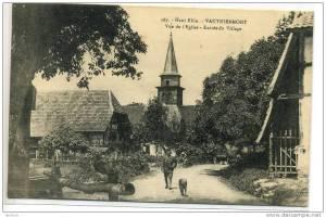 VAUTHIERMONT .  Entrée du village