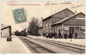 Mourmelon gare