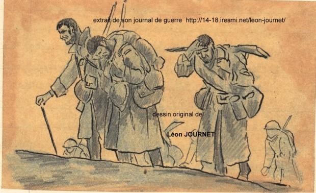 dessin de léon journetill12